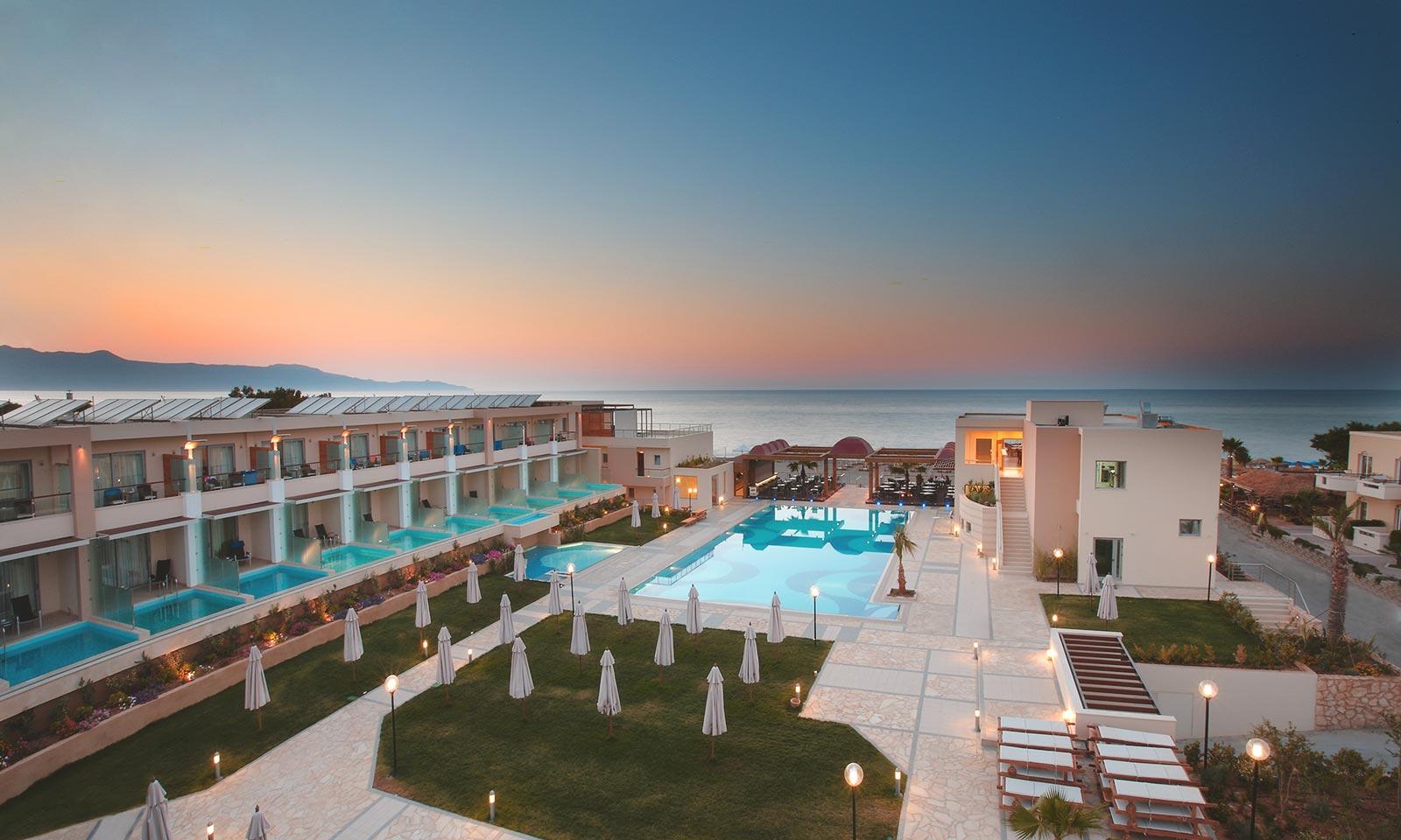 Creta resort lusso aldemar knossos royal villas albergo for Design hotel kreta